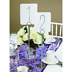 HBH Silver Foil Table Numbers