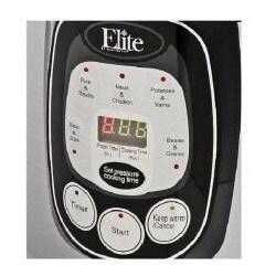 MaxiMatic Elite Platnium Stainless Steel 8-quart 1200-watt Digital Pressure Cooker