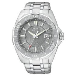 Citizen Men's Signature Eco-Drive Stainless-Steel Watch