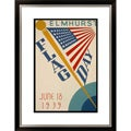 Elmhurst Flag Day June 18 1939 Du Page County Centennial Framed Limited Edition Giclee Art
