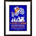 Theresa Holburn 'A Hero is Born A Romantic Musical' Framed Limited Edition Giclee Art
