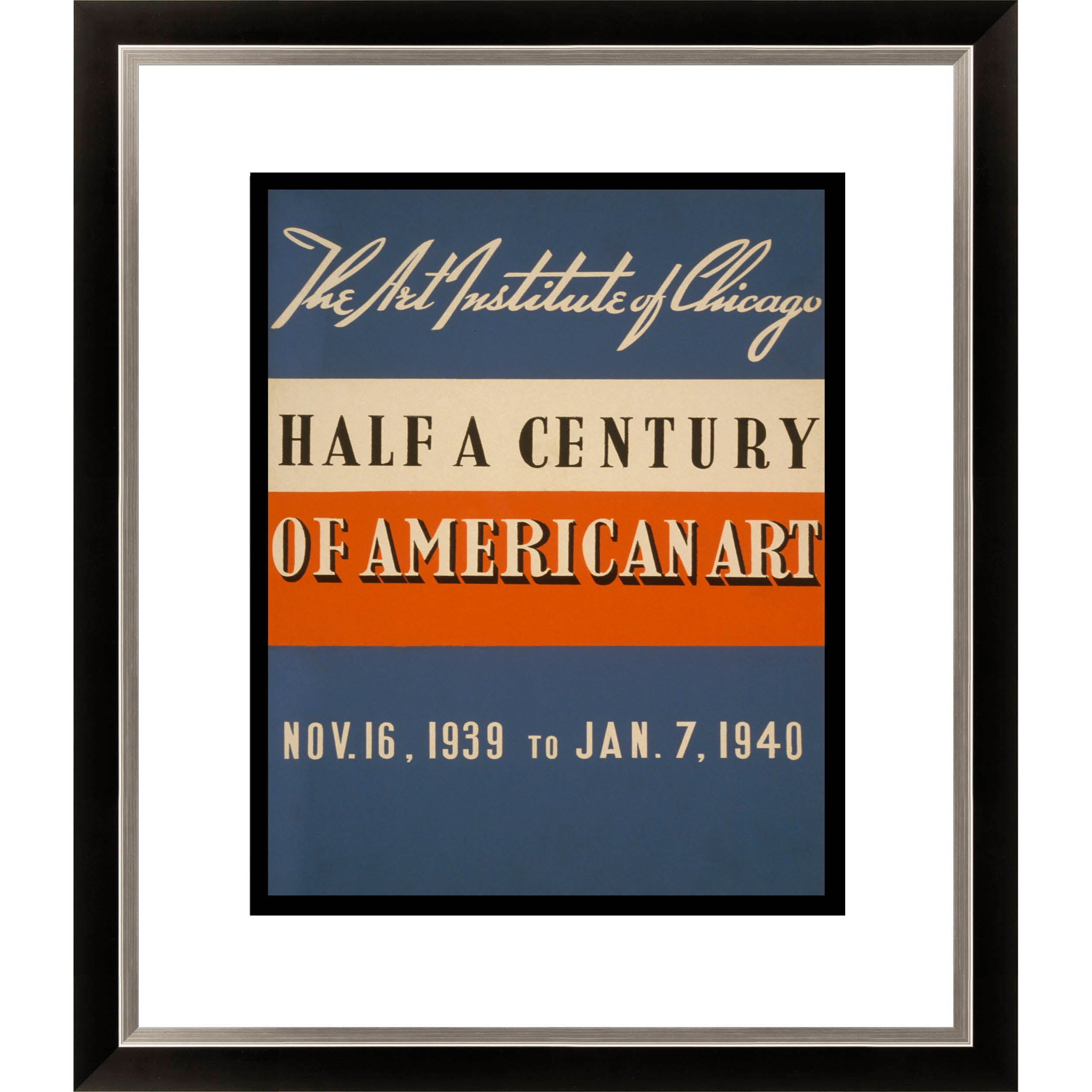 Gallery Direct Half a Century of American Art The Art Institute of Chicago Framed Limited Edition Giclee Art