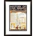 History of Civic Services in the City of New York Framed Limited Edition Giclee Art