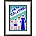 The Job of Being a Parent Framed Limited Edition Giclee Art