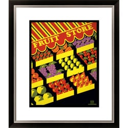 Fruit Store Framed Limited Edition Giclee Art