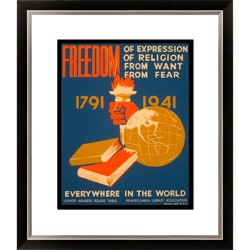 Gallery Direct 'Freedom of Expression' Framed Limited Edition Giclee