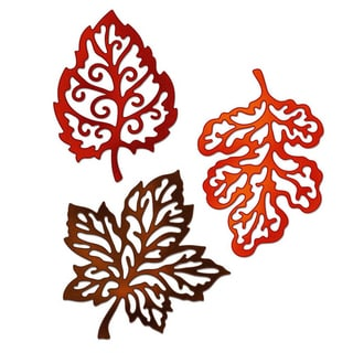 "CottageCutz Die 4""X6""-3 Filigree Fall Leaves Made Easy"