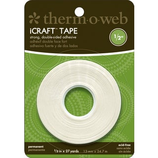 "iCraft Tape-.5"" X 27 Yards"