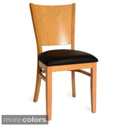 Hendrix Side Chairs Dark Mahogany (Set of 2)