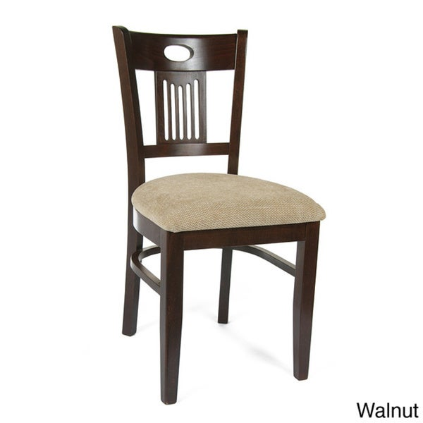 Violin Wood Side Chairs (Set of 2)