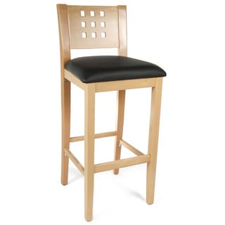 Hemlock Faux Leather Barstool