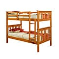 Mission Twin Honey Bunk Bed