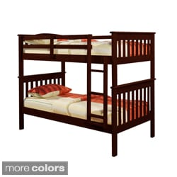 Mission Twin/ Twin Bunk Bed