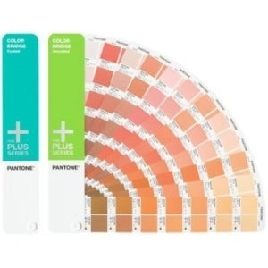 Pantone COLOR BRIDGE Coated & Uncoated Set Reference Printed Manual