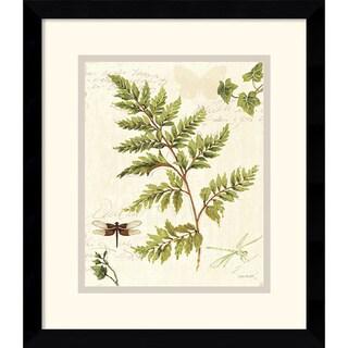 Lisa Audit 'Ivies and Ferns I' Framed Art Print