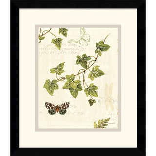 Lisa Audit 'Ivies and Ferns II' Framed Art Print