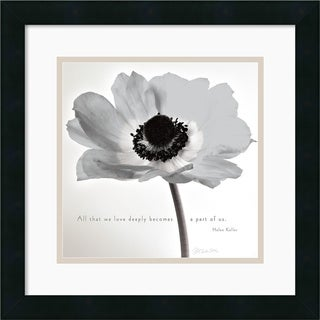 Deborah Schenck 'Poppy Love' Framed Art Print
