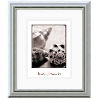 Sue Schlabach 'Beach Dreams' Framed Art Print