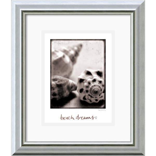 Sue Schlabach 'Beach Dreams' Framed Art Print