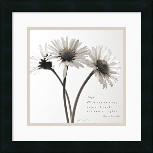 Deborah Schenck 'Daisy Hope' Framed Art Print