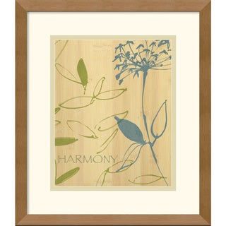 Avery Tillmon 'Harmony' Framed Art Print