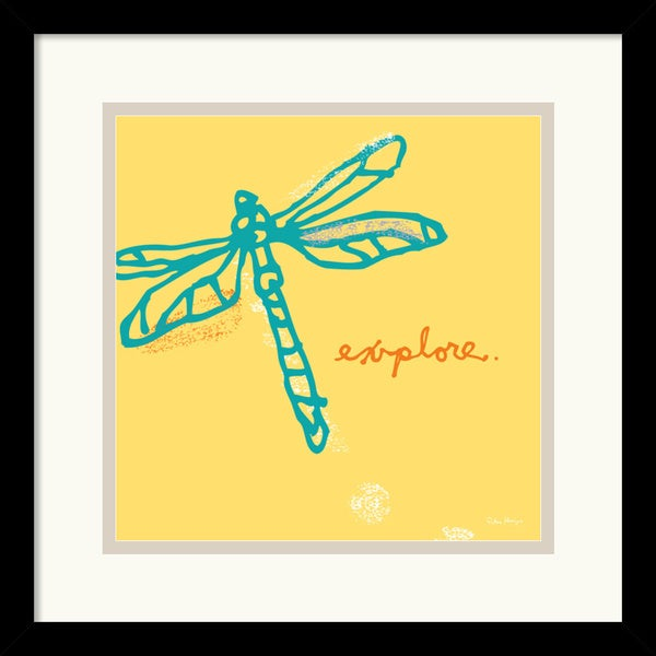 Peter Horjus 'Dragonfly' Framed Art Print