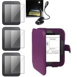 INSTEN Phone Case Cover/ LCD Protectors/ Book Light for Barnes and Noble Nook 2nd Edition