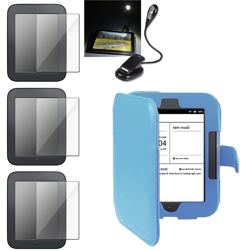 INSTEN Phone Case Cover/ Protectors/ Book Light for Barnes and Noble Nook 2nd Edition