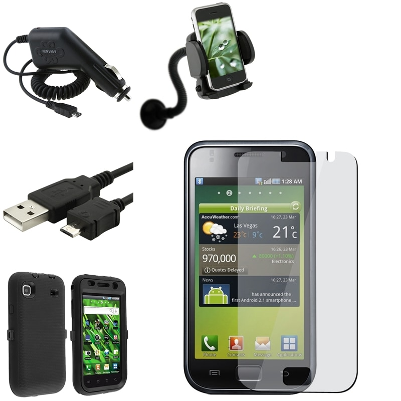 Case/ Cable/ Protector/ Charger/ Holder for Samsung Galaxy S i9000