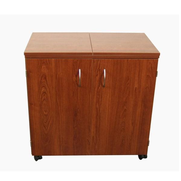 Kangaroo Kabinets Bandicoot Teak Sewing Storage Cabinet by Exponential
