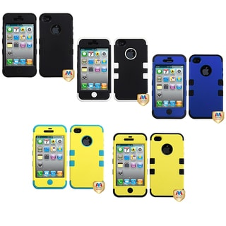 MyBat Apple iPhone 4S/4 Hybrid Protector Cover