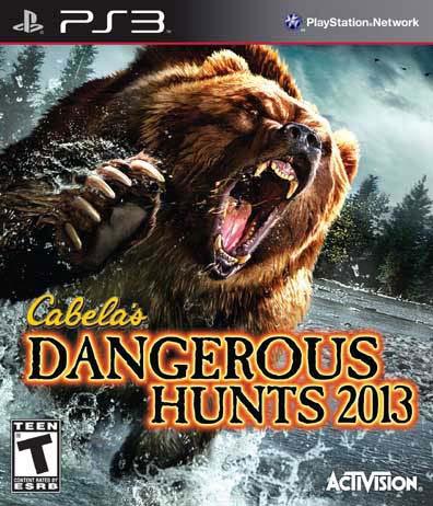 PS3 - Cabela's Dangerous Hunts 2013