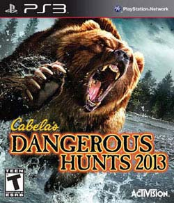 PS3 - Cabela's Dangerous Hunts 2013