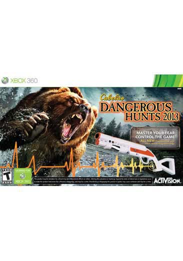 Xbox 360 - Cabelas Dangerous Hunts 2013 Bundle