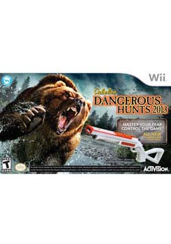 Wii - Cabelas Dangerous Hunts 2013 Bundle