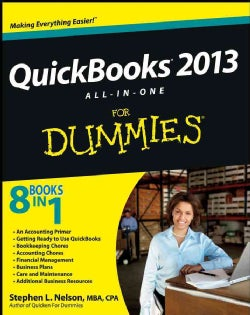 QuickBooks 2013 All-In-One For Dummies (Paperback)