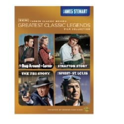 TCM Greatest Classic Films: Legends- James Stewart (DVD)