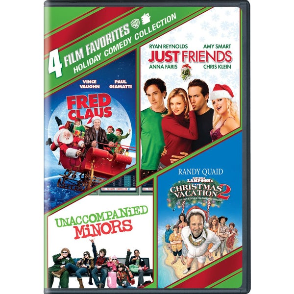4 Film Favorites: Holiday Comedy Collection (DVD) 9224992