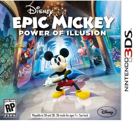 Nintendo DS 3D - Epic Mickey: Power of Illusion