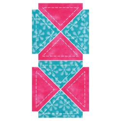 "GO! Fabric Cutting Dies-Quarter Square -2"" Finished Triangle"