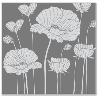 Hero Arts Cling Stamps-Poppy Background