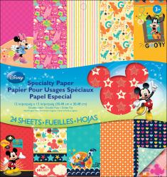 Disney Double-Sided Specialty Paper Pad 12