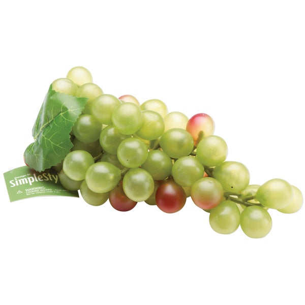 Design It Simple Decorative Fruit-Large Green Grapes