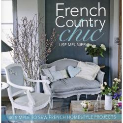 David & Charles Books-French Country Chic Sewing/Embroidery Projects