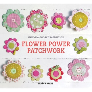 Search Press Books-Flower Power Patchwork