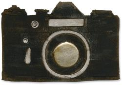 Sizzix Bigz Die By Tim Holtz-Vintage Camera