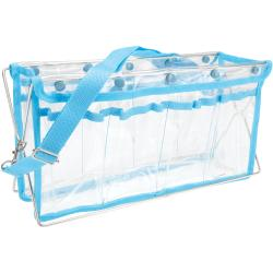 "Deluxe Handy Caddy 14""X7""X5""-Turquiose"