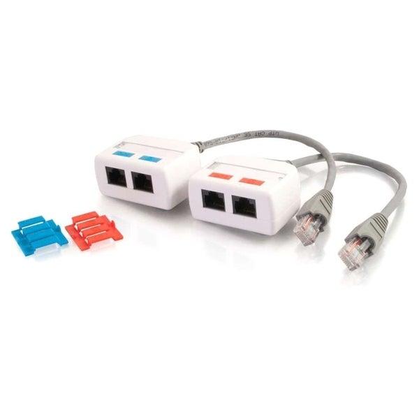 C2G RJ45 Network Combiner Kit