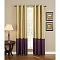 Horizon Embroidered Grommet Curtain Panel