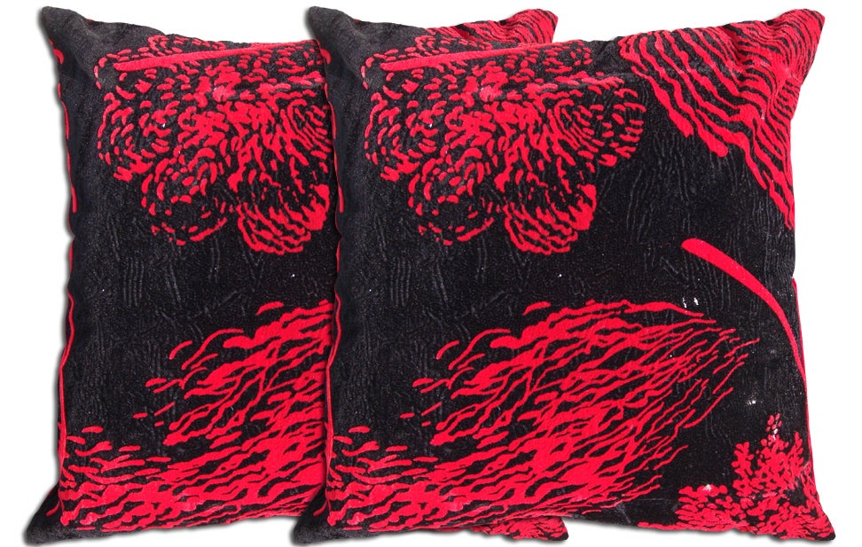 Decorative Polyester Pillows (Set of 2)